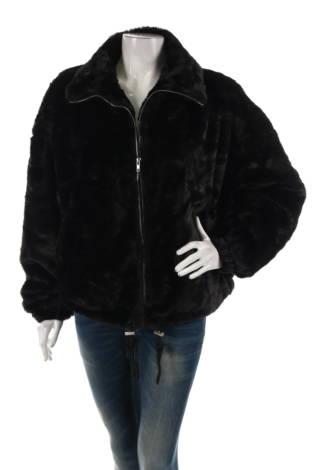 Палто с косъм Missguided