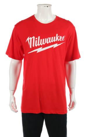 Тениска с щампа Milwaukee