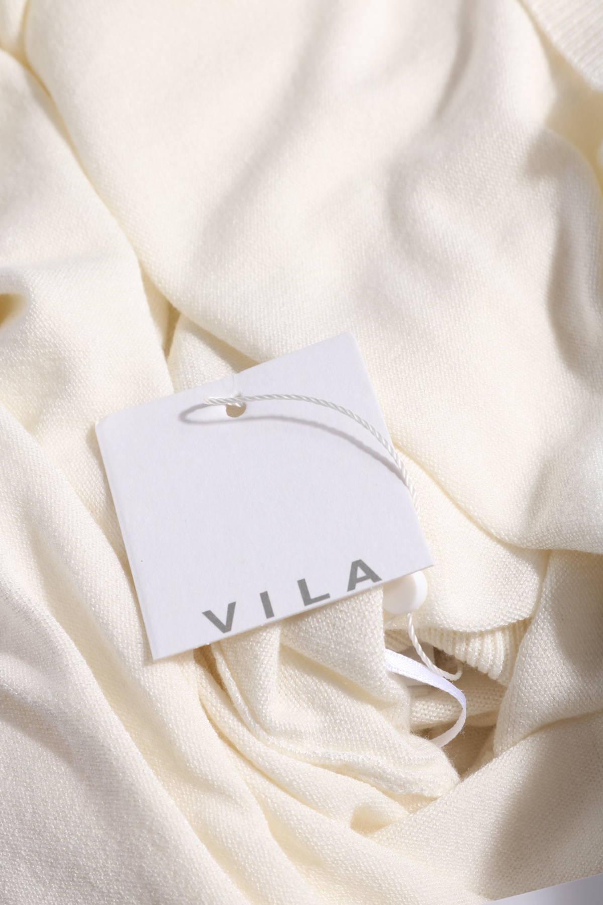 Пуловер с поло яка VILA3