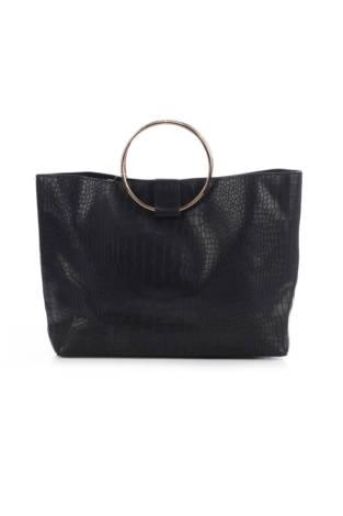 Кожена чанта Beauty boutique by hoppers drug mart bag
