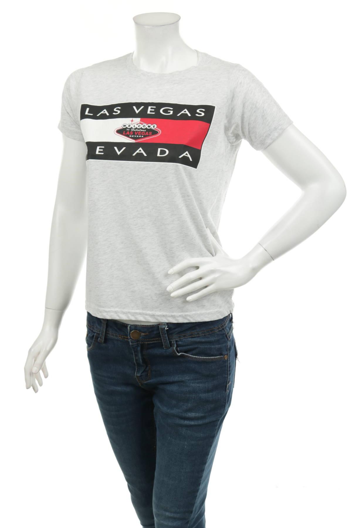 Тениска с щампа NO NAME1