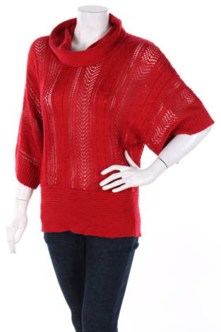 Пуловер с поло яка A.N.A