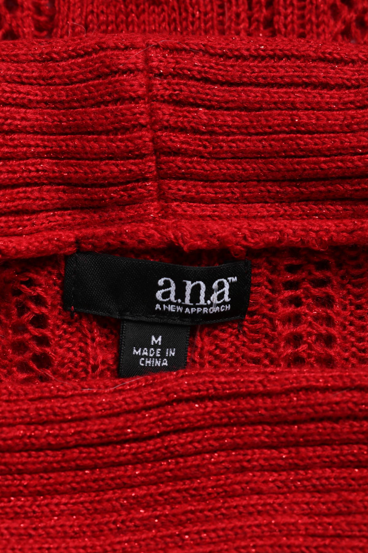 Пуловер с поло яка A.N.A3
