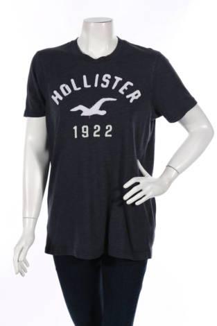 Тениска с щампа Hollister