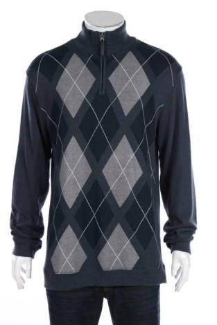 Пуловер с поло яка Method