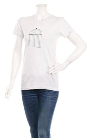 Тениска с щампа AMERICAN APPAREL
