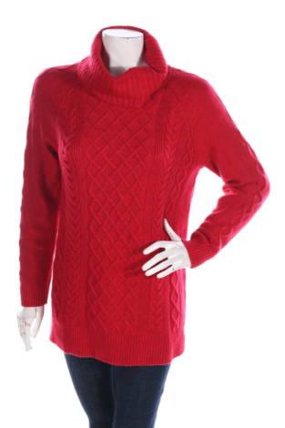 Пуловер с поло яка Croft & Barrow