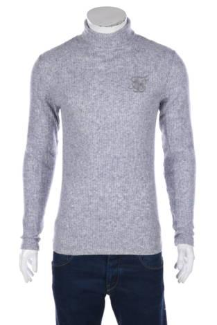 Пуловер с поло яка Sik Silk