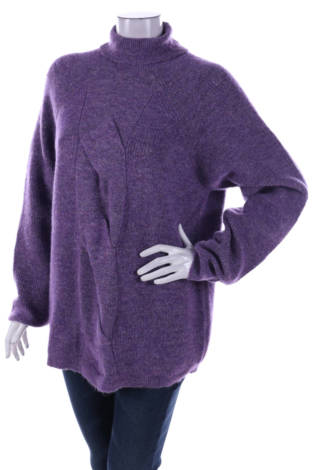 Пуловер с поло яка Fransa