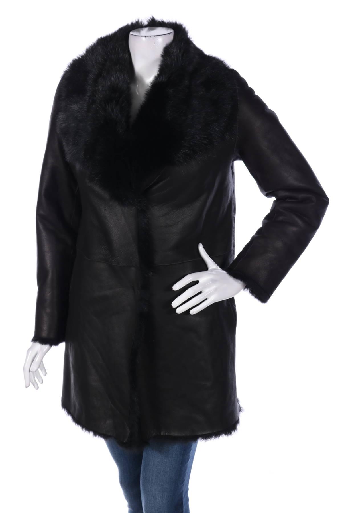 Палто с косъм Studio ID1
