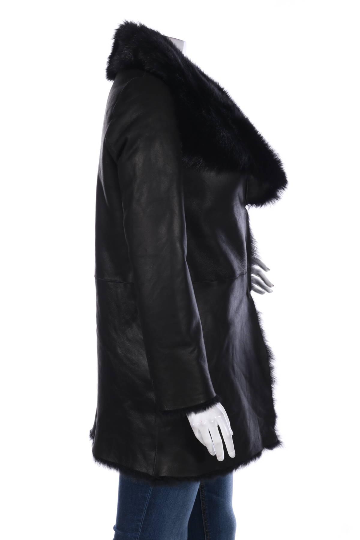 Палто с косъм Studio ID3