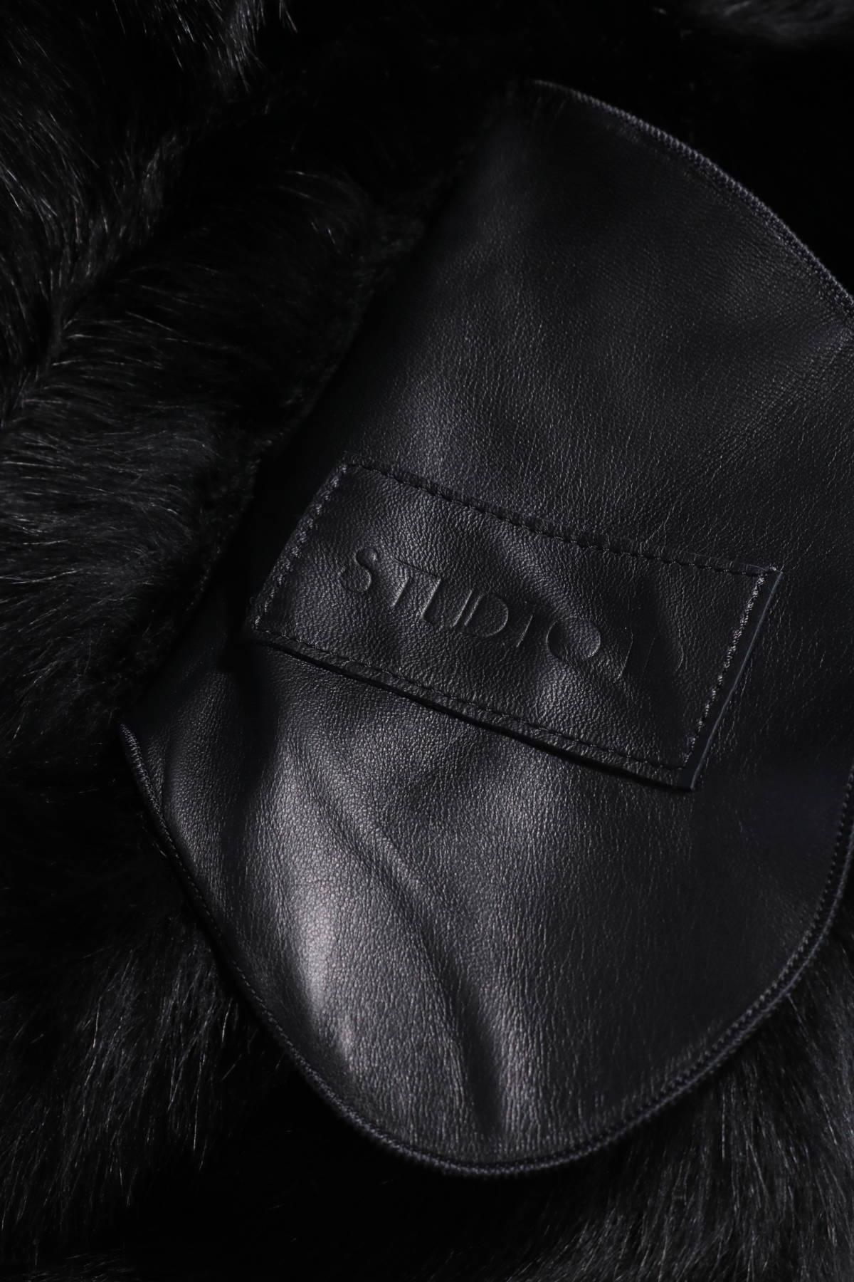 Палто с косъм Studio ID4