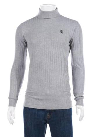 Пуловер с поло яка Gym King