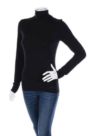 Блуза с поло яка Karl Lagerfeld