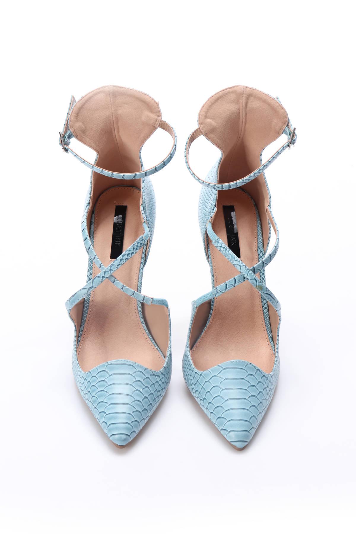 Обувки на ток Lost ink2