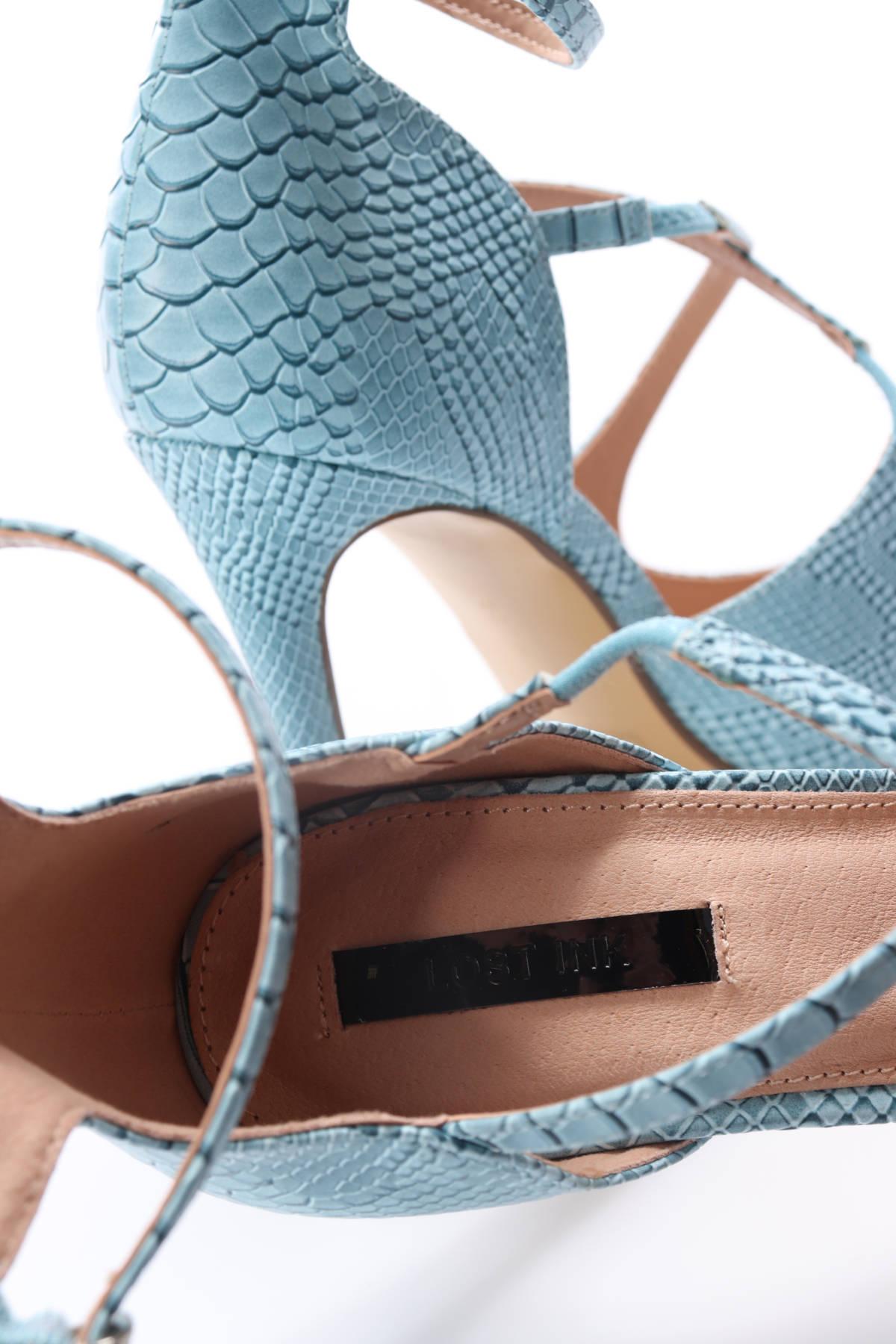 Обувки на ток Lost ink4