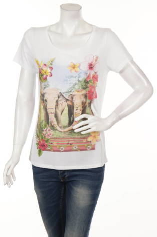Тениска с щампа PRINCESS GOES HOLLYWOOD