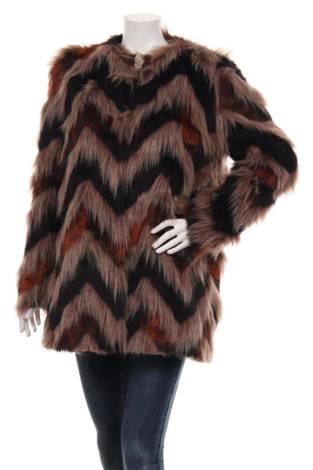Палто с косъм AMUSE
