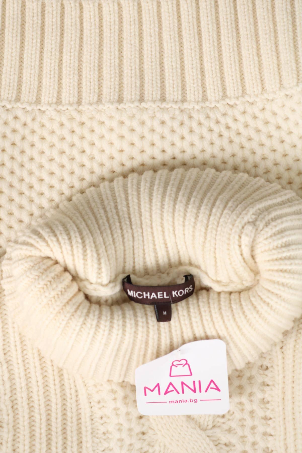 Пуловер с поло яка MICHAEL KORS3