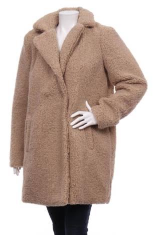 Палто с косъм NOISY MAY
