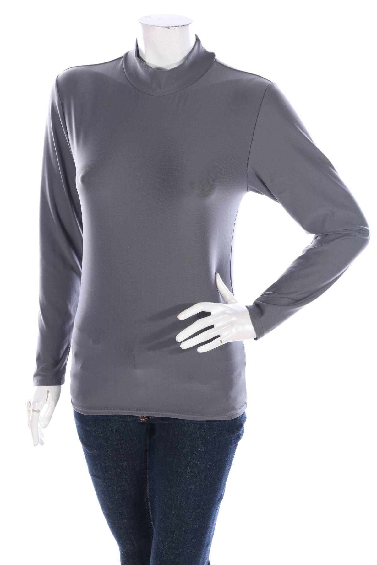 Пуловер с поло яка EXERTEK1