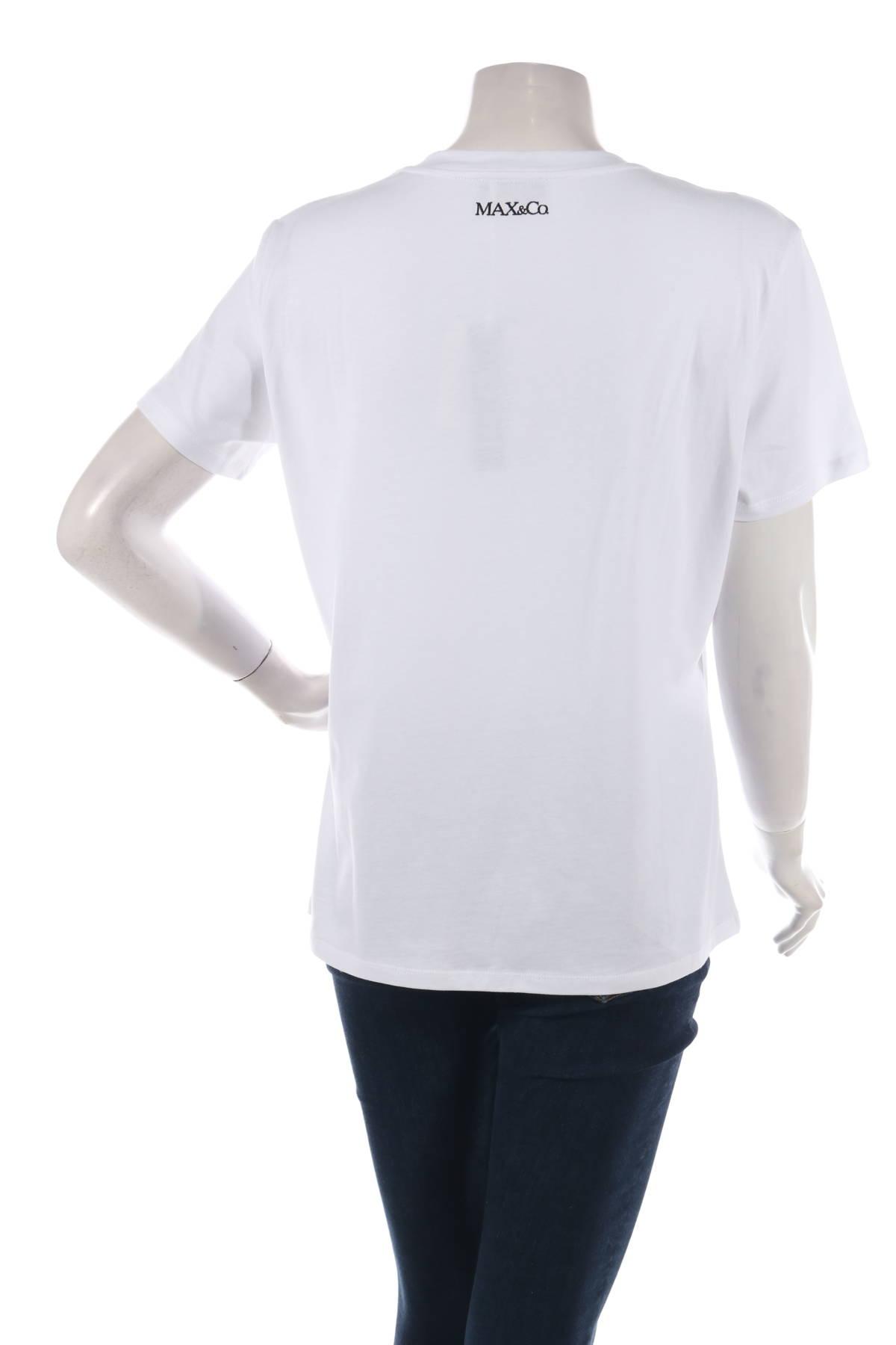 Тениска с щампа Max&Co.2