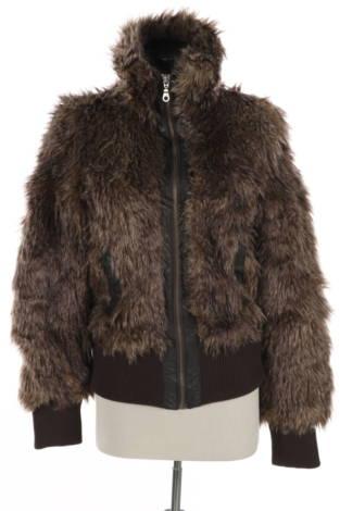 Палто с косъм Lindex