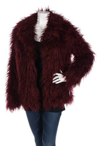 Палто с косъм Willow & Clay