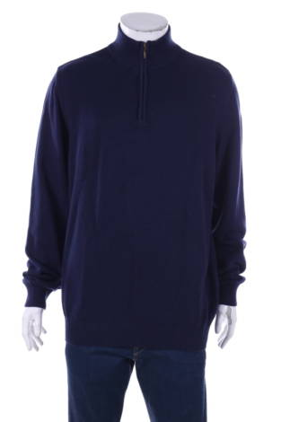 Пуловер с поло яка John Ashford