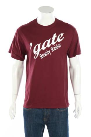 Тениска с щампа Port & Company