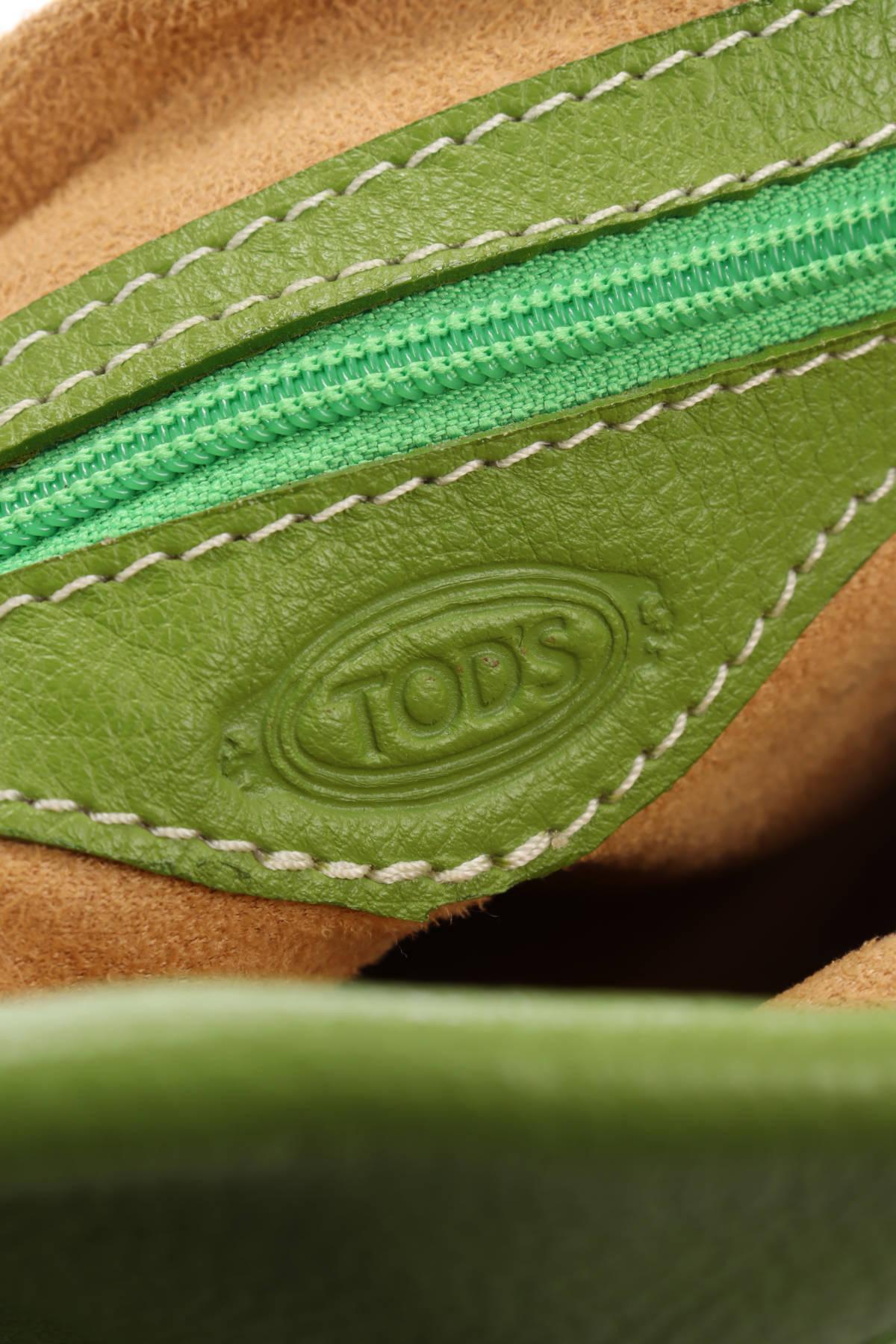 Кожена чанта Tod's4