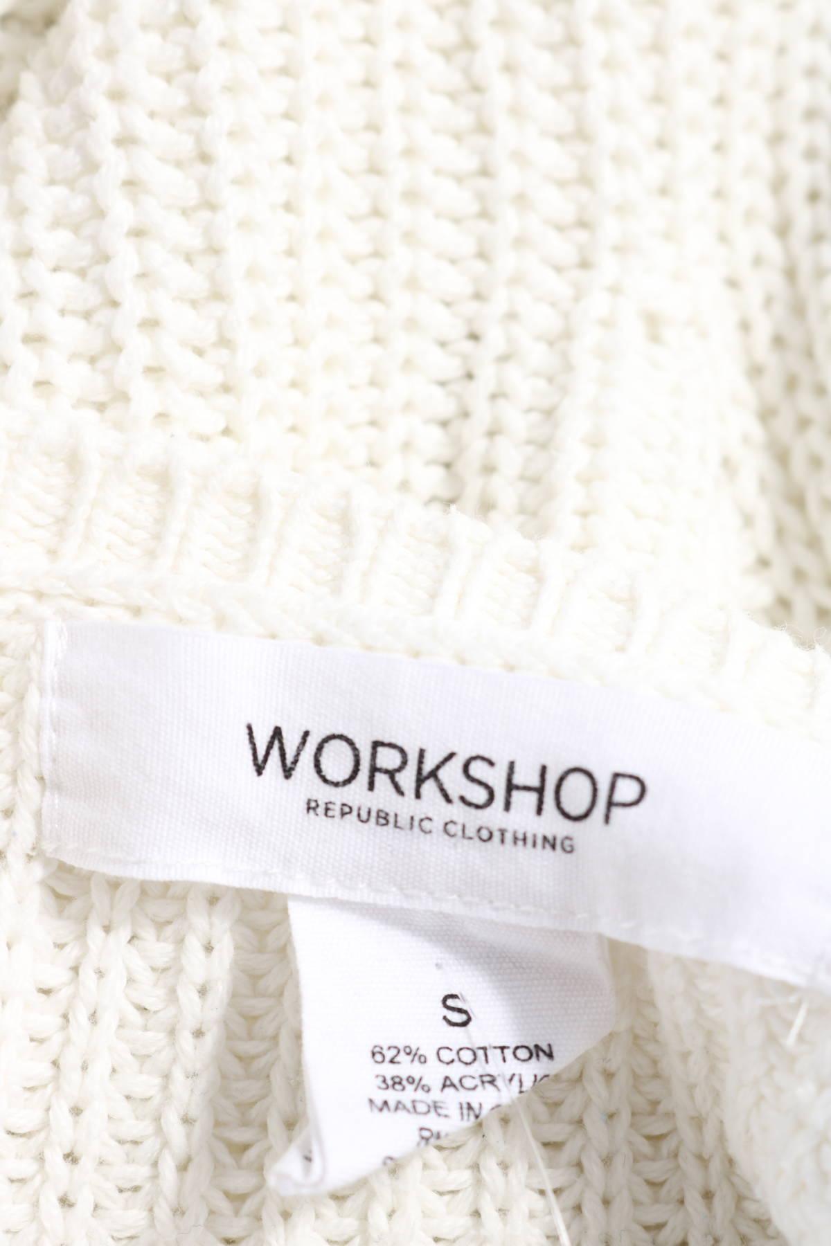 Пуловер WORKSHOP3