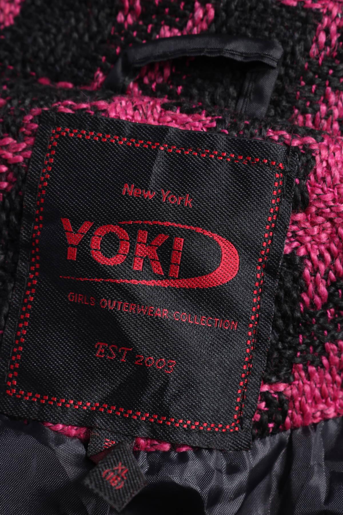 Детско пролетно-есенно палто Yoki3