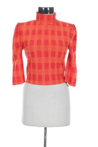 Блуза с поло яка GLAMOROUS