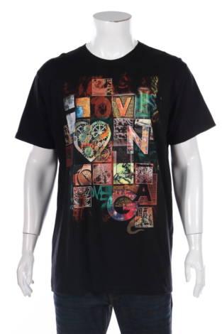 Тениска с щампа Russell