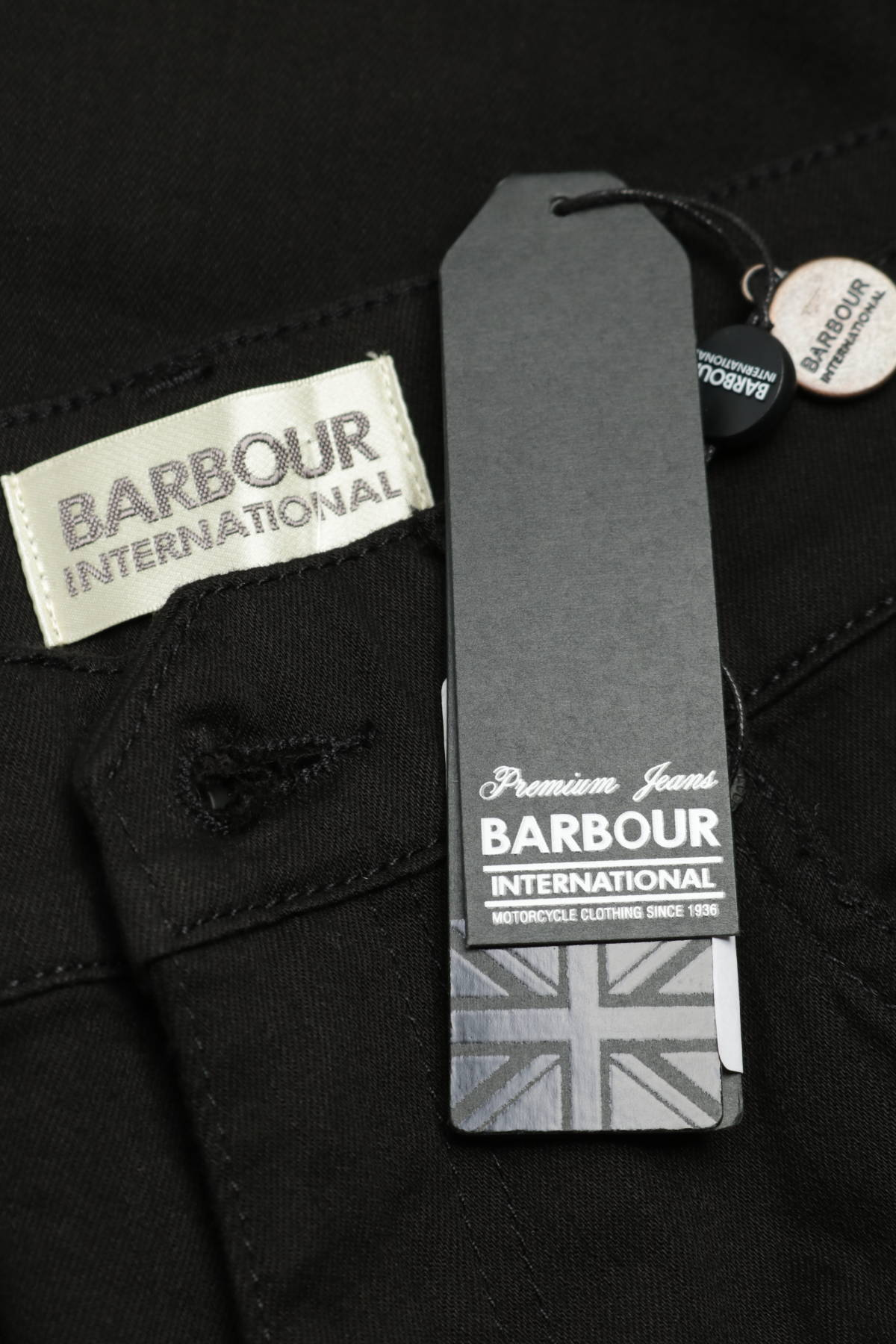 Ластични дънки BARBOUR4