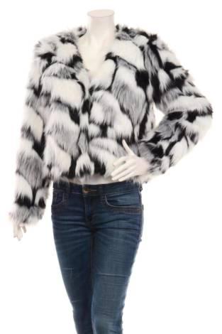 Палто с косъм SHEIN