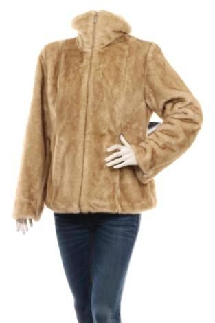 Палто с косъм BRAETAN