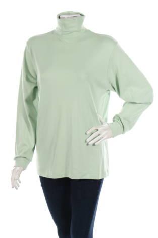 Блуза с поло яка Casual Corner