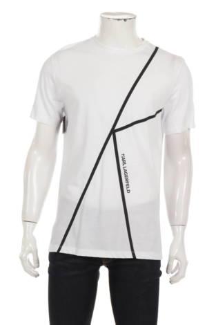 Тениска с щампа KARL LAGERFELD
