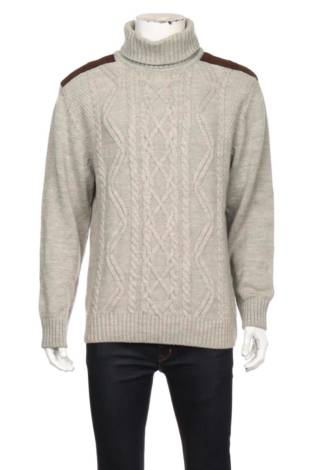 Пуловер с поло яка LC WAIKIKI