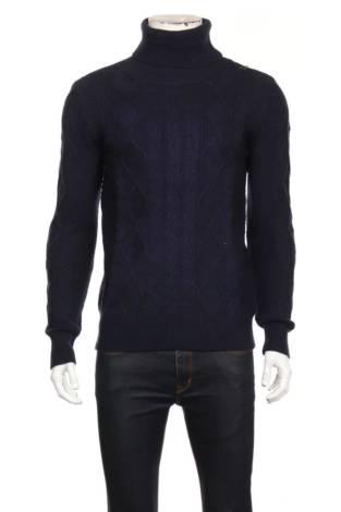 Пуловер с поло яка PRETTY GUIDE