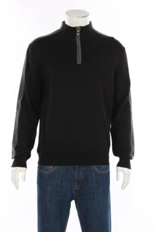 Пуловер с поло яка AXIST