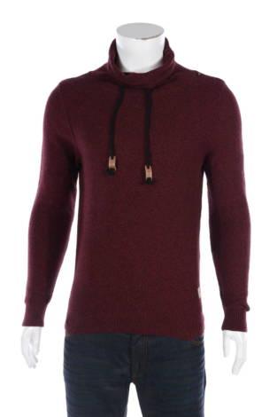 Пуловер с поло яка Springfield