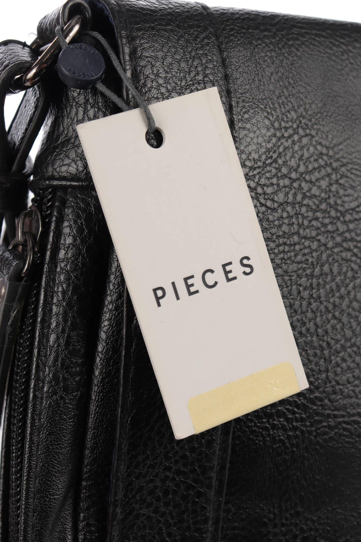 Кожена чанта PIECES3