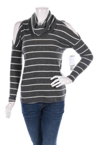 Пуловер с поло яка Design Lab