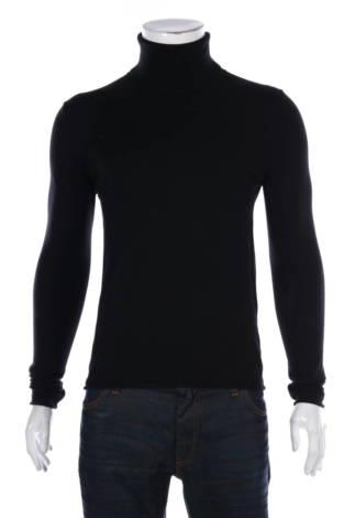 Пуловер с поло яка Sisley