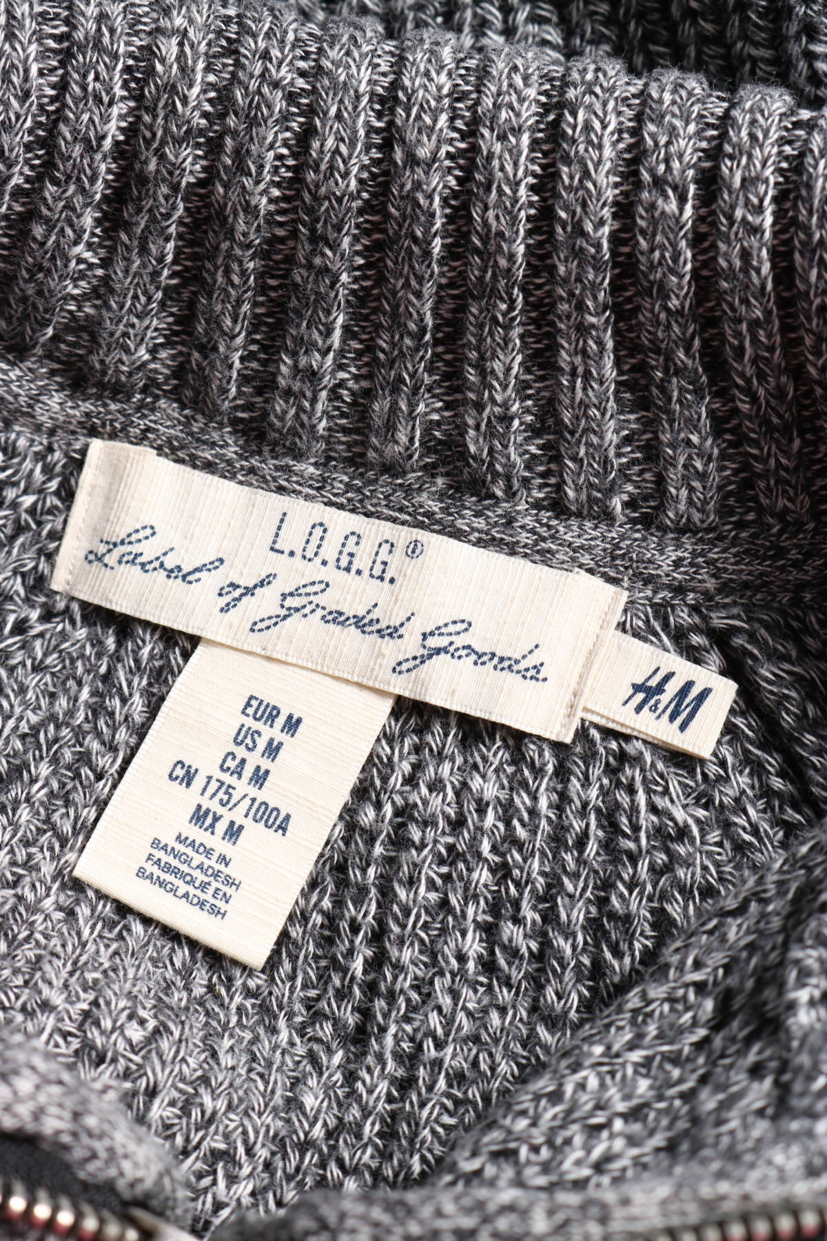 Пуловер с поло яка H&M L.O.G.G3