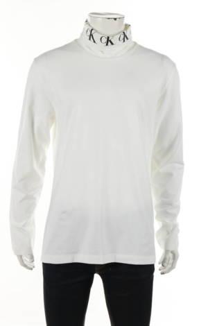 Блуза с поло яка Calvin Klein