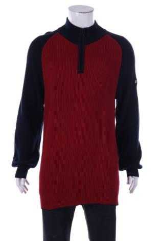 Пуловер с поло яка Nautica Jeans Co.